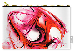 Fire Swirl Carry-all Pouch