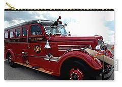 Fire Truck Selfridge Michigan Carry-all Pouch