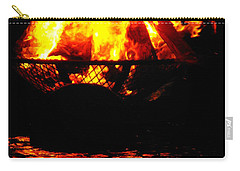 Fire Water Illuminates The Night Carry-all Pouch