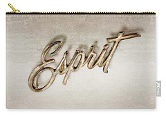 Firebird Esprit Chrome Emblem Carry-all Pouch