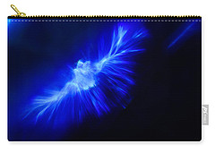 Carry-all Pouch featuring the photograph Firebird by Greg Collins