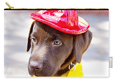 Firefighter Pup Carry-all Pouch