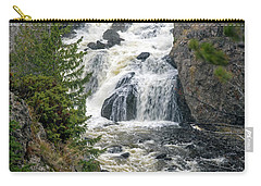 Firehole Falls Carry-all Pouch by Cindy Murphy - NightVisions