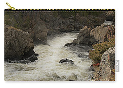 Firehole River Cascade Carry-all Pouch by Cindy Murphy - NightVisions