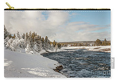 Firehole River On A Winter Day Carry-all Pouch
