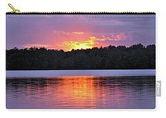 Carry-all Pouch featuring the photograph Sunsets by Glenn Gordon