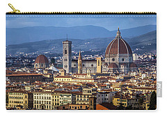 Carry-all Pouch featuring the photograph Firenze by Sonny Marcyan