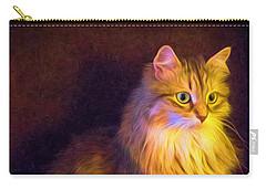 Fireside Feline Carry-all Pouch