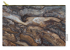 Firewood Abstract Carry-all Pouch