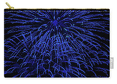 Firework Blues Carry-all Pouch