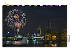 Fireworks And 17th Street Docks Carry-all Pouch