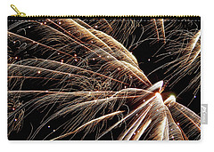 Carry-all Pouch featuring the photograph Fireworks Evolution #0710 by Barbara Tristan