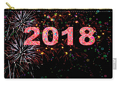 Fireworks Happy New Year 2018   Carry-all Pouch