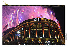 Fireworks Night At Citifield Carry-all Pouch