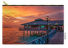 Fireworks Of Colors. Maldives Carry-all Pouch