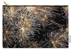 Carry-all Pouch featuring the photograph Fireworks by Suzanne Stout
