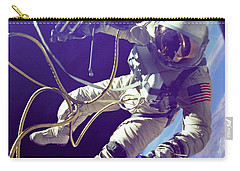 First American Walking In Space, Edward Carry-all Pouch by Nasa