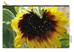 First Bloom Maturing  Carry-all Pouch by Angela J Wright