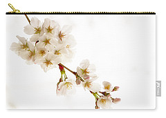 Carry-all Pouch featuring the photograph first blossoms on the Basin by Edward Kreis