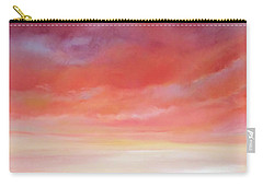 Carry-all Pouch featuring the painting First Blush By V.kelly by Valerie Anne Kelly