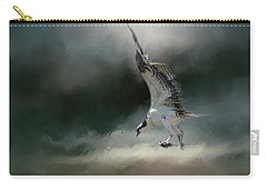 First Catch Of The Morning Osprey Art By Jai Johnson Carry-all Pouch by Jai Johnson