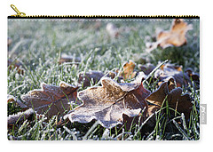 First Frost Carry-all Pouch by Helga Novelli