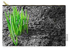 First Green Shoots Of Spring And Dirt Carry-all Pouch