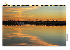 Carry-all Pouch featuring the photograph First Key West Sunrise 2018 A  by Bob Slitzan