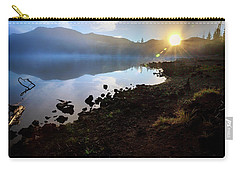 Carry-all Pouch featuring the photograph Daybreak by Cat Connor