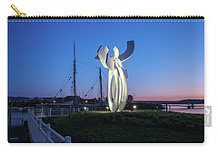 First Light At The Waterfront Carry-all Pouch