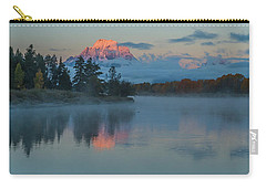 First Light Of Dawn Carry-all Pouch by Yeates Photography
