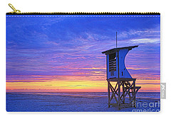 First Light On The Beach Carry-all Pouch