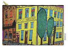 First National Hotel. Historic Menominee Art. Carry-all Pouch