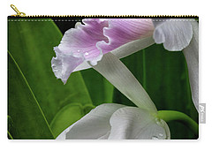 First Orchid At The Conservatory Of Flowers Carry-all Pouch