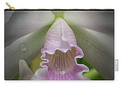 First Orchid Straight On Carry-all Pouch