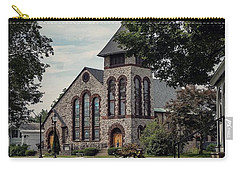Carry-all Pouch featuring the photograph First Presbyterian Church by Kendall McKernon
