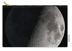 First Quarter Moon Carry-all Pouch