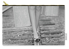 Carry-all Pouch featuring the photograph First Step by Barbara West