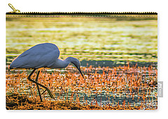 Carry-all Pouch featuring the photograph First Sun Rays by Jivko Nakev
