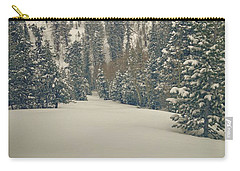 Carry-all Pouch featuring the photograph first turns Friday  by Mark Ross
