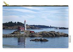 Fisgard Lighthouse Shoreline Carry-all Pouch by Marilyn Wilson