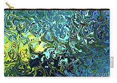 Fish Abstract Art Carry-all Pouch