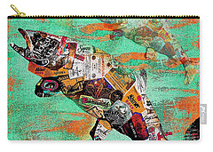 Fish And Bourbon Carry-all Pouch by Saundra Myles