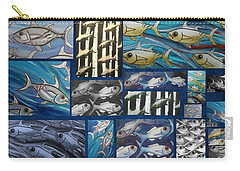 Fish Collage Carry-all Pouch
