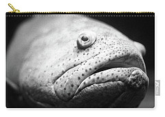 Fish Face Carry-all Pouch