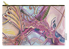 Fish Feathers Carry-all Pouch