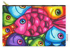 Fish Friends Carry-all Pouch
