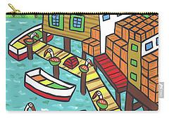 Fish House-cedar Key Carry-all Pouch