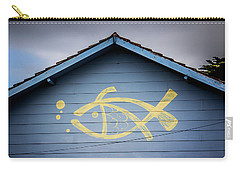 Carry-all Pouch featuring the photograph Fish House by Perry Webster