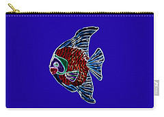Fish In Water Carry-all Pouch